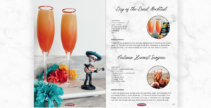 two charming mocktails